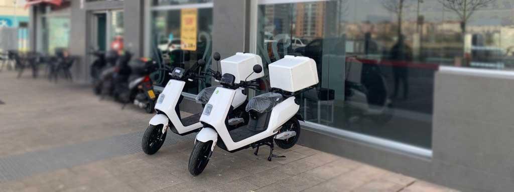 Entregamos el primer pedido de vehículos 0% emisiones en Vitoria